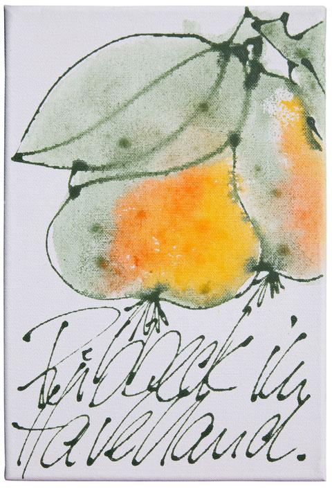 """Ribbecker im Havelland"", Acryl auf Leinwand, 40 x 30 cm, Preis auf Anfrage"