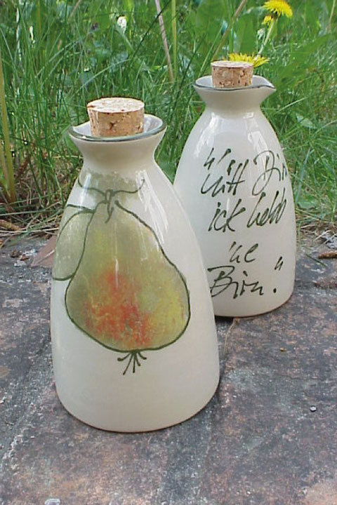 Öl- und Essigflasche mit Korken | 14,50 Euro