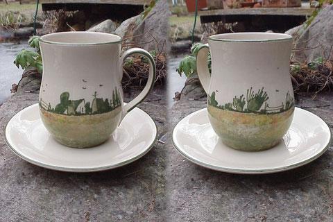 Kaffee/Teepott, mit Untertasse |ab 24,50 Euro