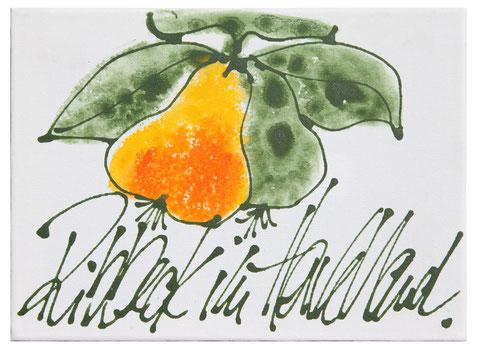 """Ribbeck im Havelland"", Acryl auf Leinwand, 18 x 24 cm, Preis auf Anfrage"