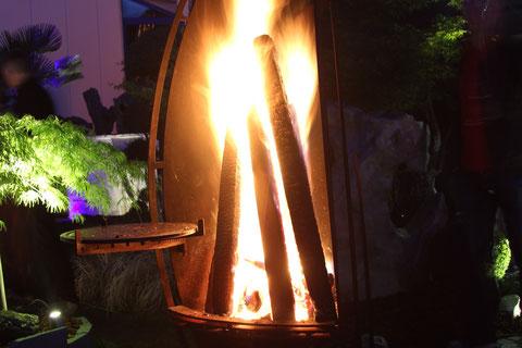 Feuerstellen Grill Garten Corten-Stahl Terra Domo Filderstadt