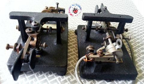 Due Mc Elroy modello 1936A a confronto.