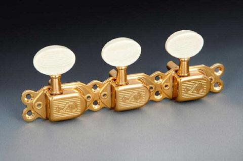 Galalite pura senza aggiunta di coloranti, utilizzata in strumenti musicali e telegrafici