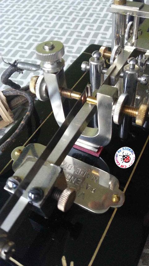 Vibroplex Patent-457, replica di DK4XL