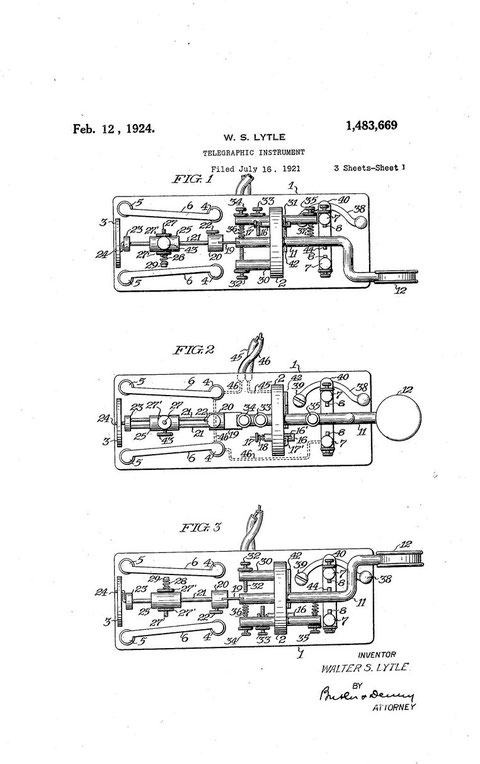 The Lyttle triplex patent