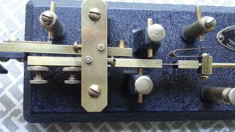 Early Go-devil - Particolare frame e dei due bracci del pendolo