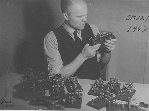Mr. Sture Jönsson con i suoi Harlosa Bugs.