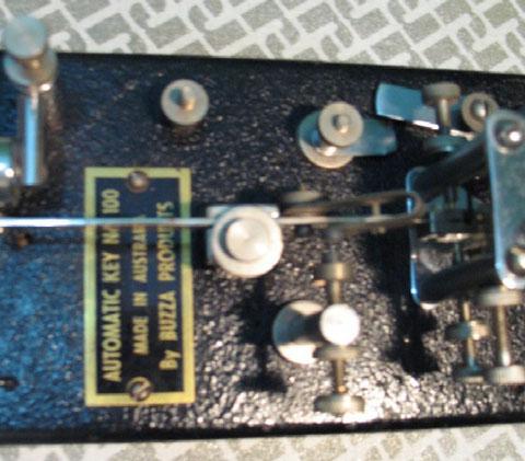 Automaitc Key n.100 - particolare targa