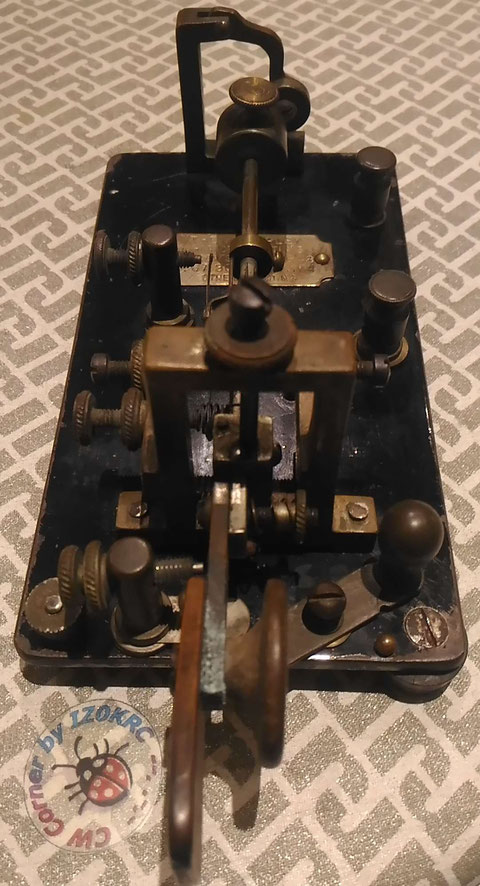 Martin Vibroplex thin base SN #3180