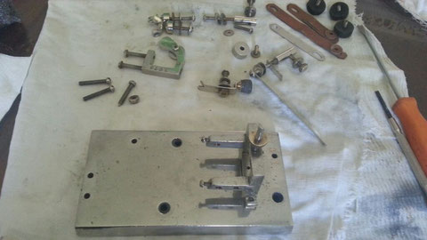 F.A. Wilcox, all parts ready to reassemble