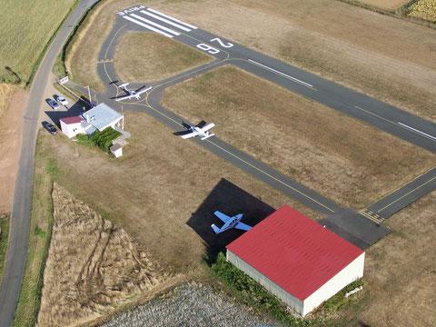 Les installations de l'aéroclub