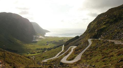 Der Weg nach Hoddevik