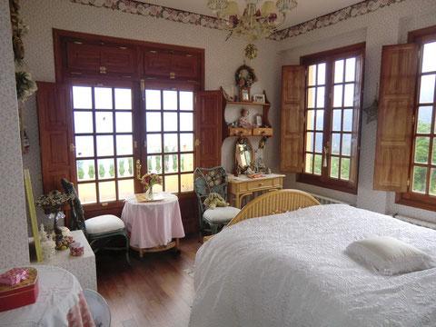 Das 3. Schlafzimmer ist verspielter ein gerichtet.
