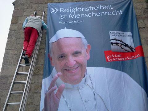 Solidarität mit berängten Christen auch in Kassel - St Joseph, Rothenberg