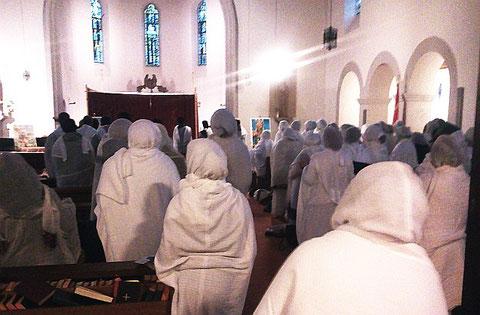 Festgottesdienst im November 2012 auf dem Rothenberg in St. Joseph
