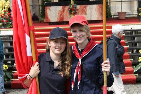 Flagge zeigen: Malteser Jugend am Bonifatiusfest 2012