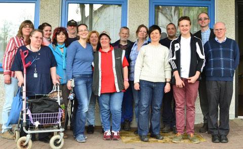 Team der Sozialkirche im April 2013