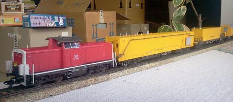 """Märklin HO-Modell """"Tunnelhilfszug"""""""