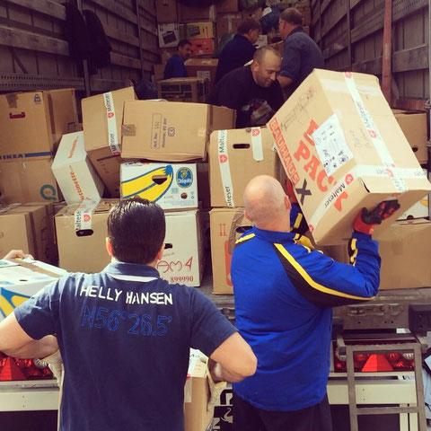 Hilfstransport im Frühjahr 2015 nach Rumänien