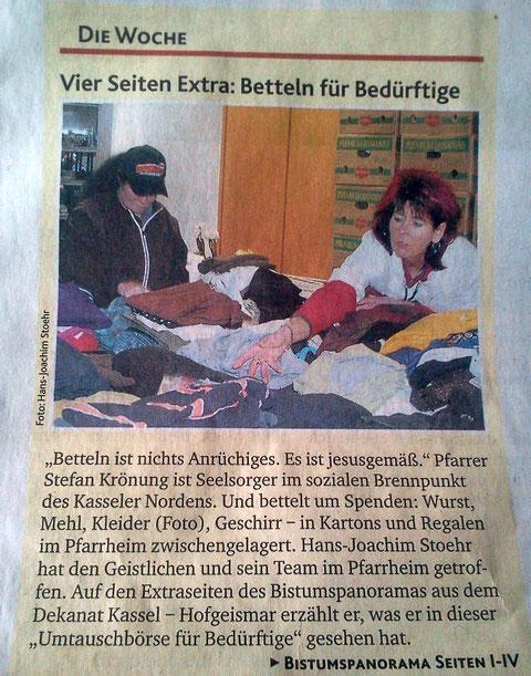 Kirchenzeitung Bonifatiusbote berichtet (März 2013)