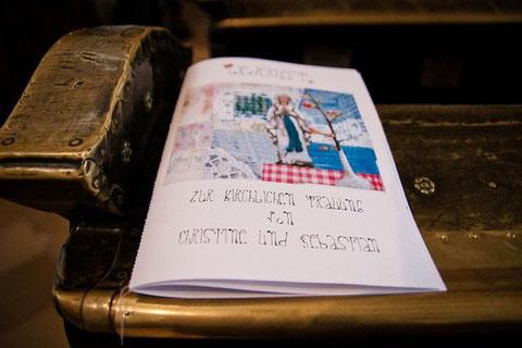 Liederheft Nostalgie-Hochzeit Christine Hohenstein