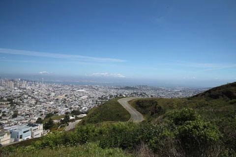 grandiose Aussicht von den Twin Peaks aus