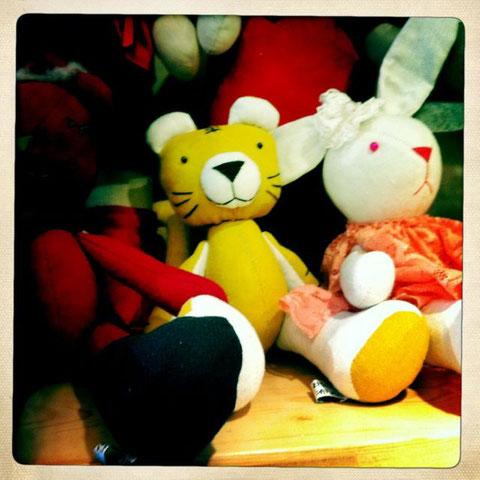 Handgemachte Puppen :-)