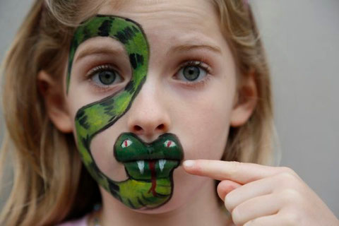 face painting - Christine Hohenstein