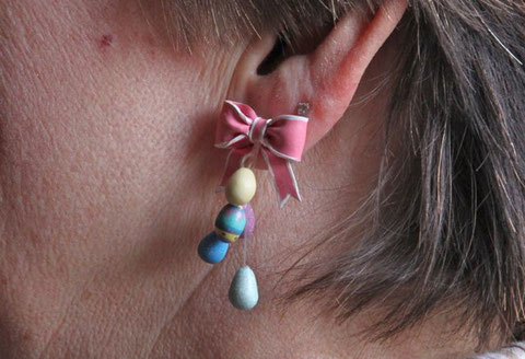 Lucys - our Innkeepers - easter earrings