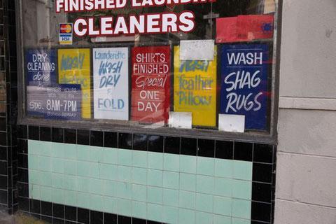 """Das einzige, das hier """"clean"""" ist, ist die Wäsche."""