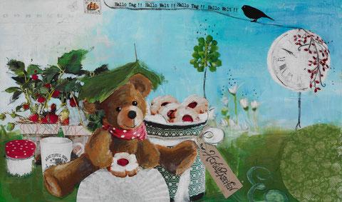 Honigplätzchen-Frühstück [honey cookies for breakfast]