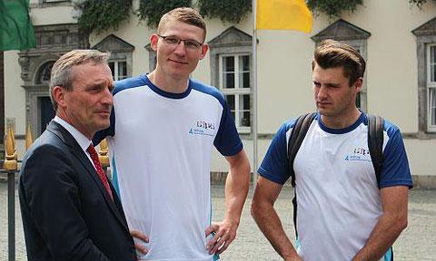 Die Schirmherrschaft für das Projekt hat Oberbürgermeister Thomas Geisel übernommen