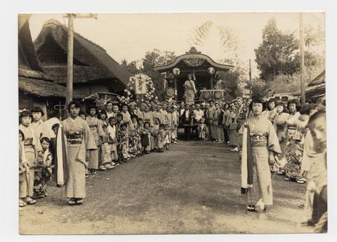 昭和36年春日神社例大祭