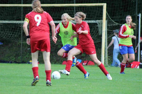 Jana Weiß in Aktion