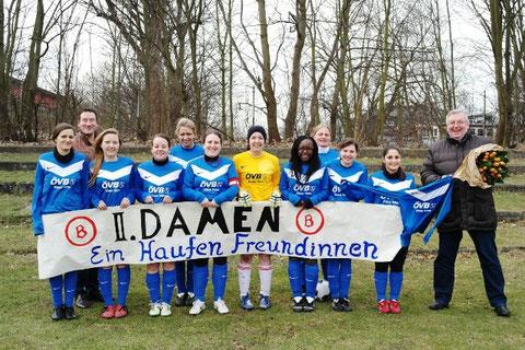 Ein Teil unserer Mannschaft mit unserem Sponsor Klaus Hafer von der ÖVB Versicherung