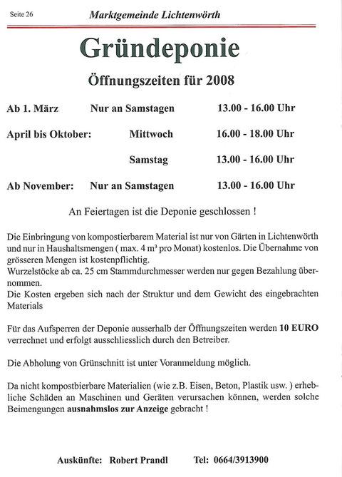 Auszug aus Gemeindezeitung_2008-03