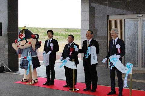The renewed and reopened Watari Onsen Torinoumi