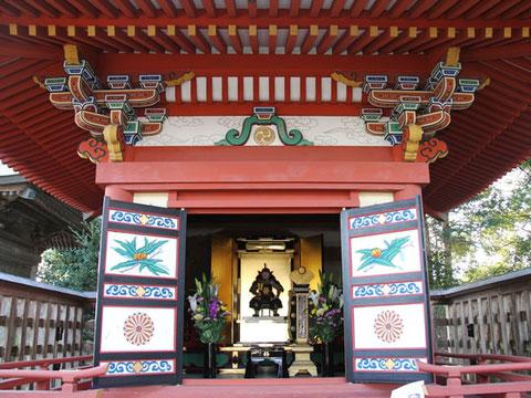 宮城県指定文化財「伊達成実霊屋」の一般公開(1月16日と8月16日の年2回)
