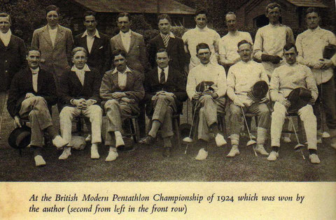 1924 British Championships with Brian Horrocks featured