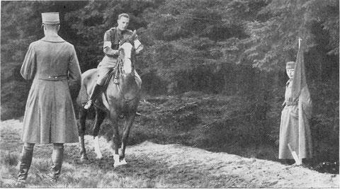 1928 Amsterdam: Newman (USA) riding