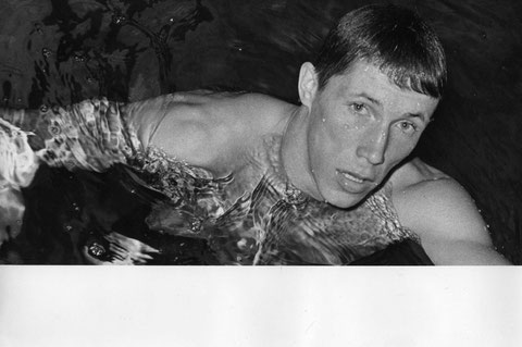 1965 Leipzig: Four times World Champion and Olympic multi-medallist Pavel Lednev (URS) makes his debut