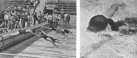 1932 Swimming + Sven Thofelt (SWE)