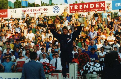 1997 Sofia: Yelizaveta Suvorova (RUS) wins gold