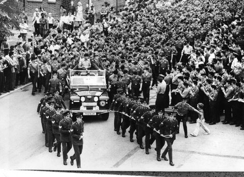 1976 Montreal: Jim Fox and team military welcome home