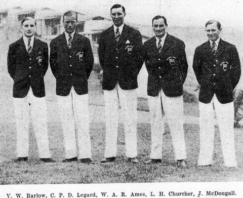 1932 Los Angeles: British team
