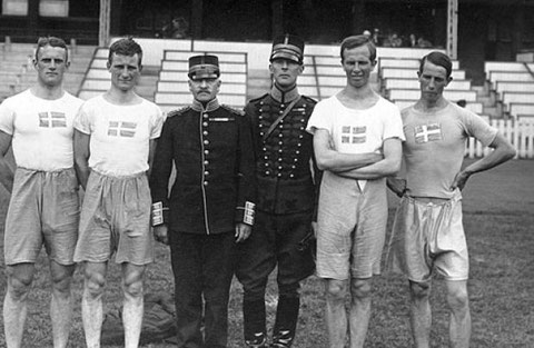 1920 Antwerp: Swedish team