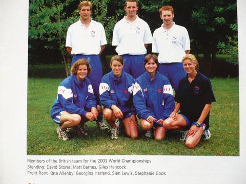 2001 Millfield: Great Britain's team