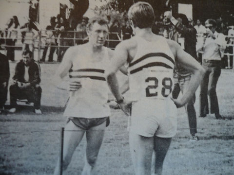 1966 Melbourne: Robbie Phelps and Jim Fox (GBR)