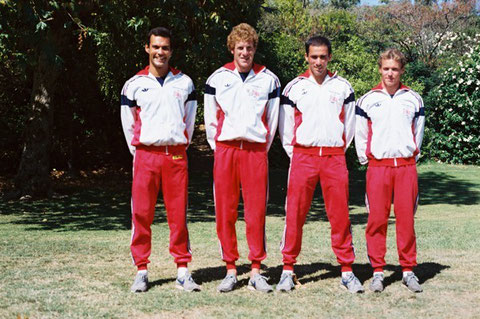 1984 Los Angeles: Great Britain -Mumford, Phelps, Nowak, Sowerby