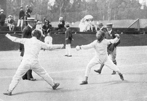 1912 Stockholm: Wersall (SWE) vs Asbrink (SWE)